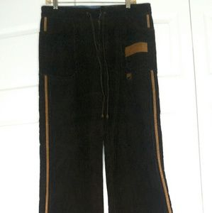 Buffalo David Bitton Womens Brown Corduroy Pants